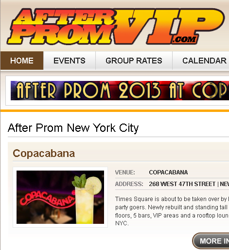 After Prom VIP